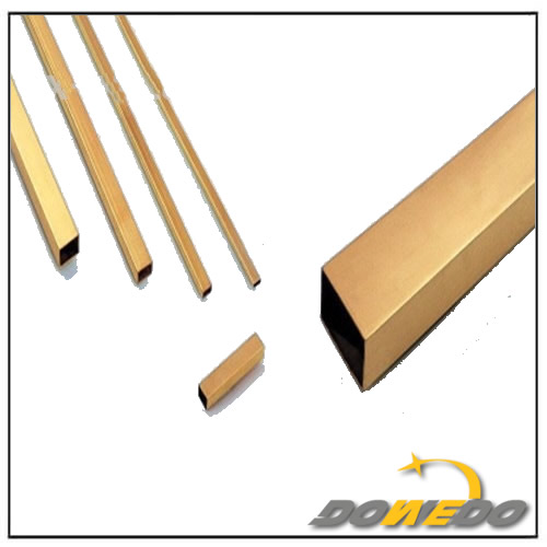 Rectangle Brass Tubes in Construction Industry