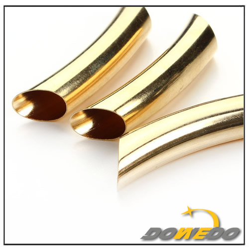 Brass Oval Pipe