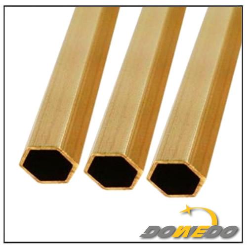 Customized Brass Hexgonal Pipes