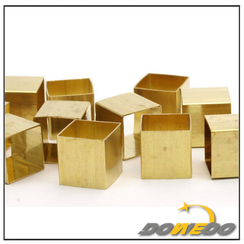Thick Walled Brass Square Tubes