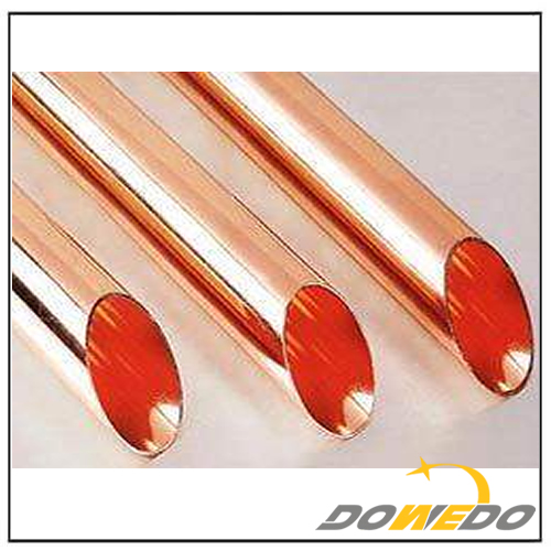 China Copper Oval Tubes Factory