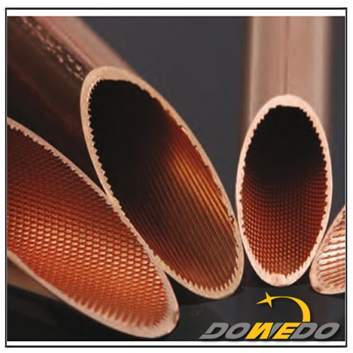 Internal Thread Copper Tube