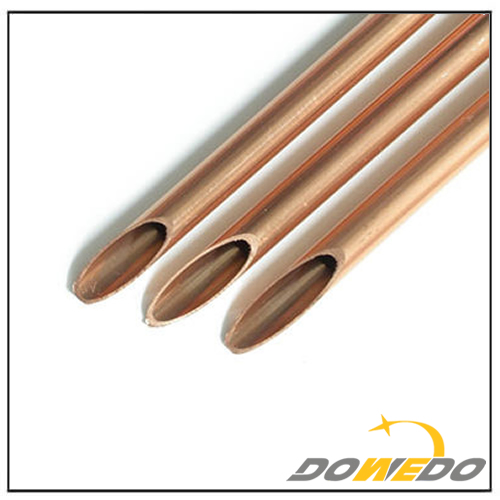 Oval Copper Pipe Copper Capillary Tube