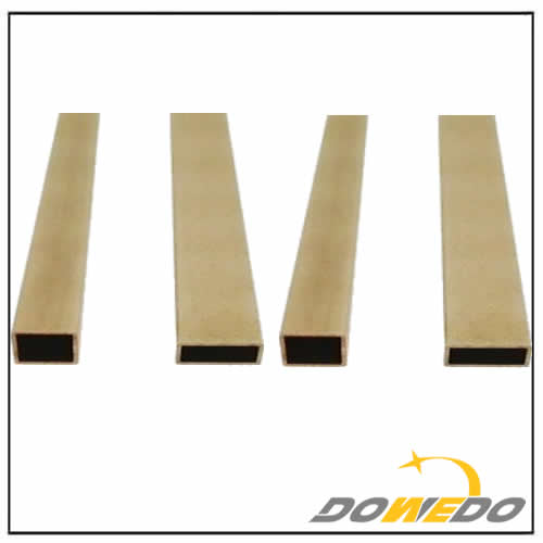 Standard Rectangle Brass Pipes