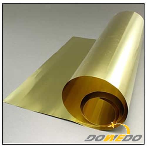 Customized Cut Size Brass Rolls