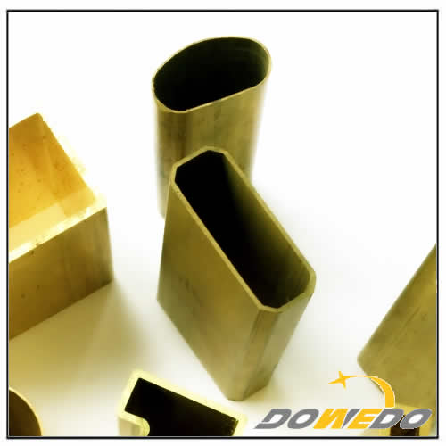 Special Shaped Brass Tubing Extrusion