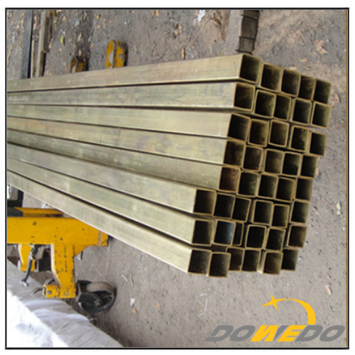 ASTM Brass Square Pipe Tubing