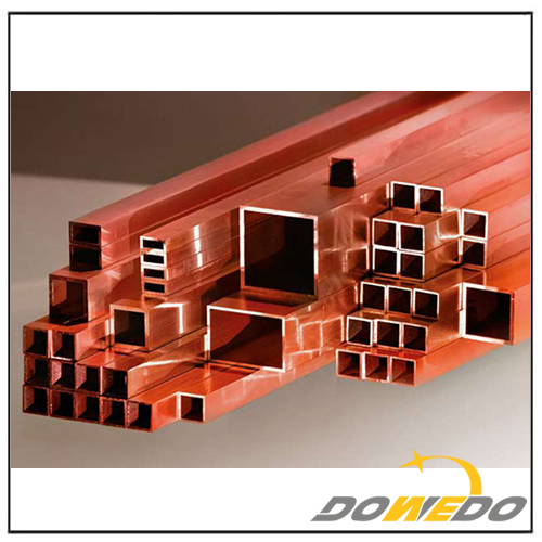 Copper Square and Rectangular Tubes Alloy