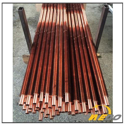 Heat Transfer Copper Finned Tube