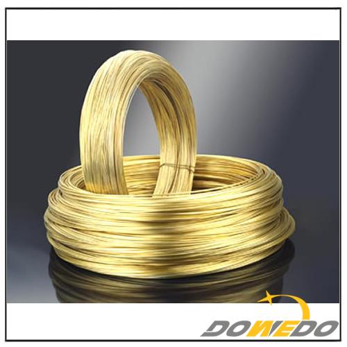 Coil Round Brass Wire