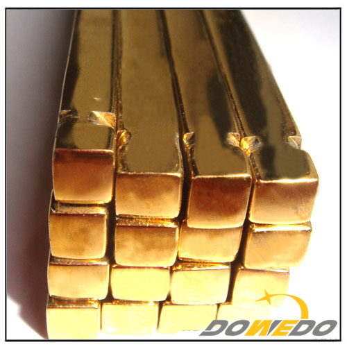Half Hard Brass Square Rod