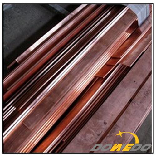110 Copper Rectangular Bar