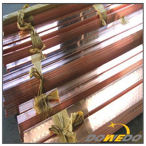 Copper Flat Earthing Bar