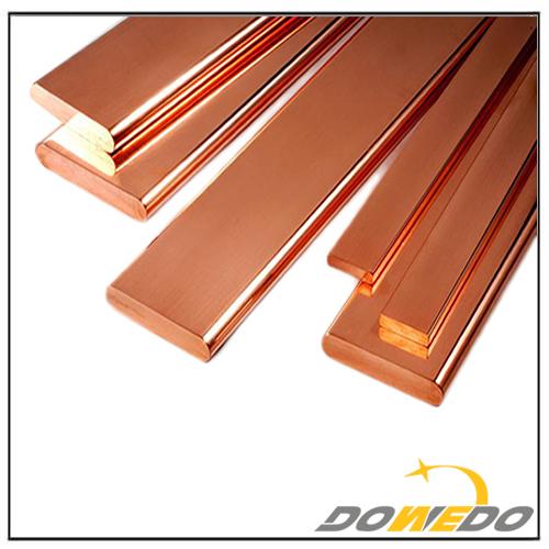 Flat Solid Copper Bar