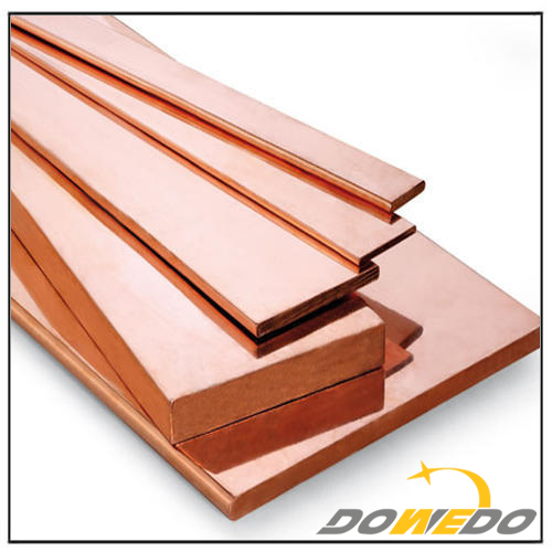Rectangle Copper Flat Bar