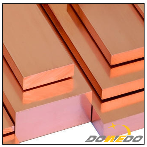 Solid Rectangle Copper Bars