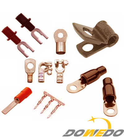 Copper Electrical Pressed Terminals