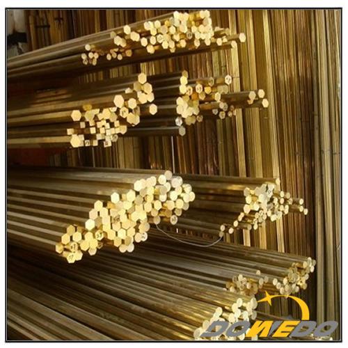 Sixangles Brass Rod