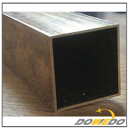Brass Alloy Square Tubing