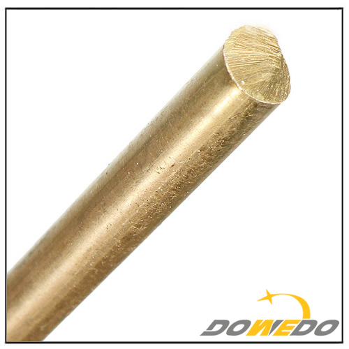 Polished Bright Brass Rod