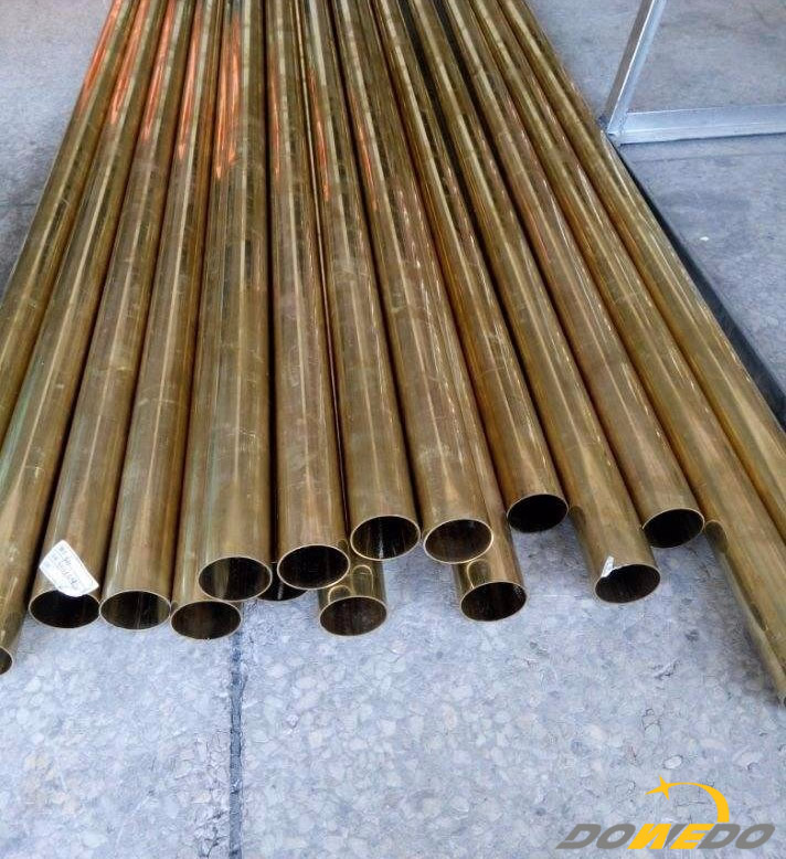 thin-walled brass tube