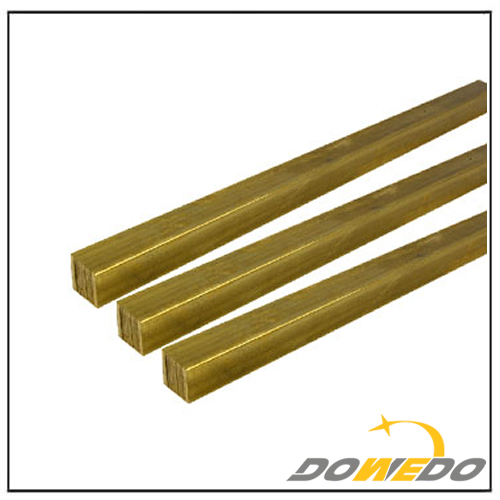 Alloy 360 Brass Square Rods