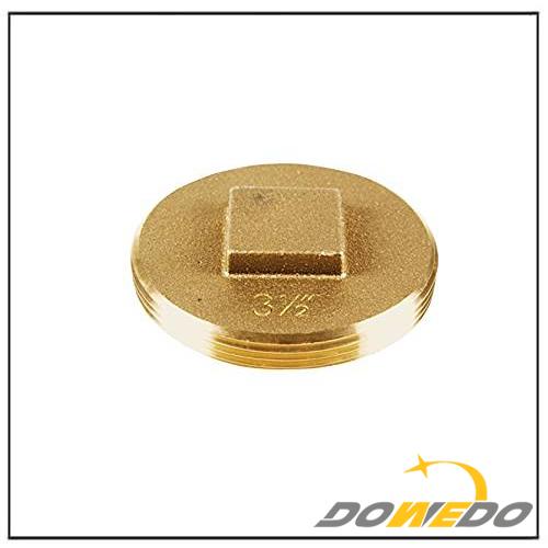 Brass Cleanout Plug