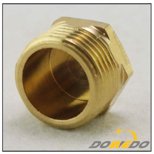 Male Brass Countersink Pipe Plug
