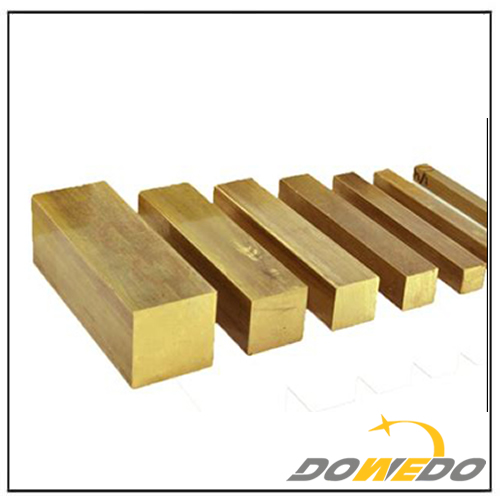 Rectangular Square Brass Bars