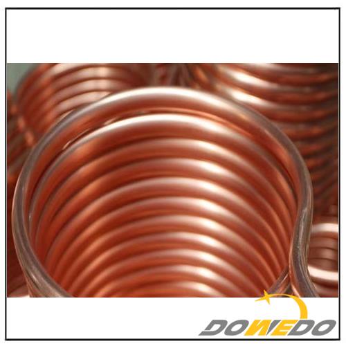 99.9% Pure T2 C11000 Copper Tube Coil