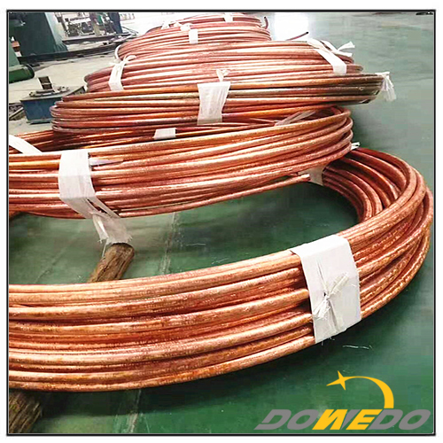 C11000 Copper Pipe Coil For Air Condition