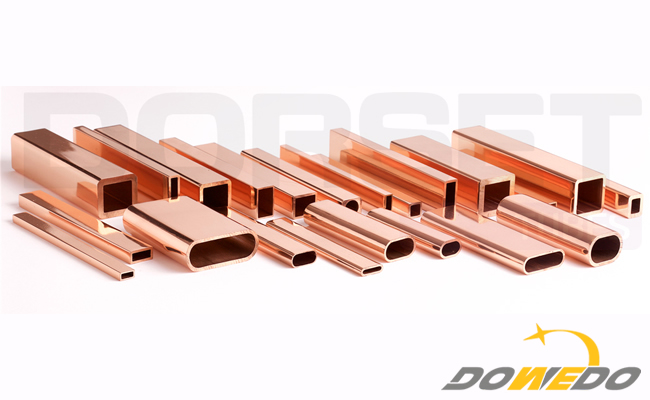 Small Shaped Assorted Copper Tube