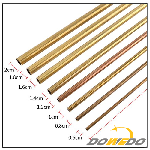 Seamless Round Brass Pipe Tube D6-20mm
