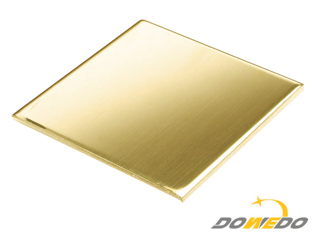 Brass Sheet 100x100x0.9mm