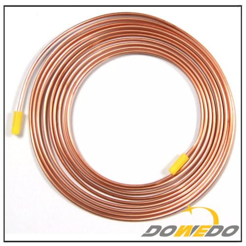 Copper Coil Straight Tubes