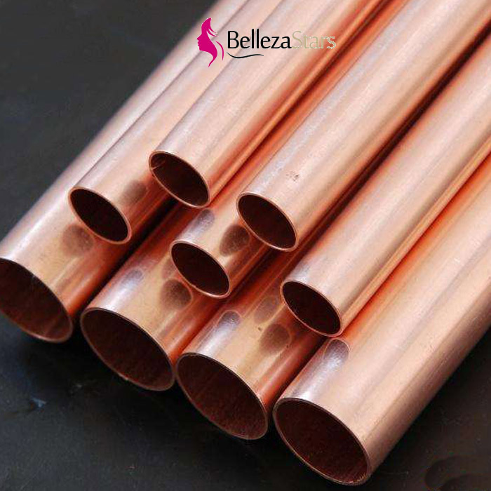 Heat exchanger seamless copper heat pipe