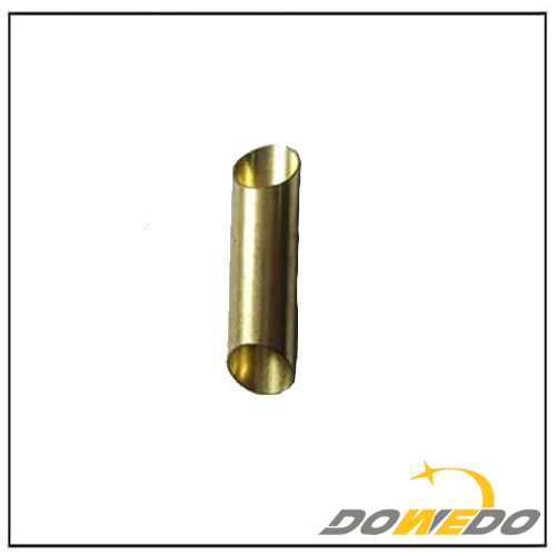 Oval Brass Hollow Metal Tube