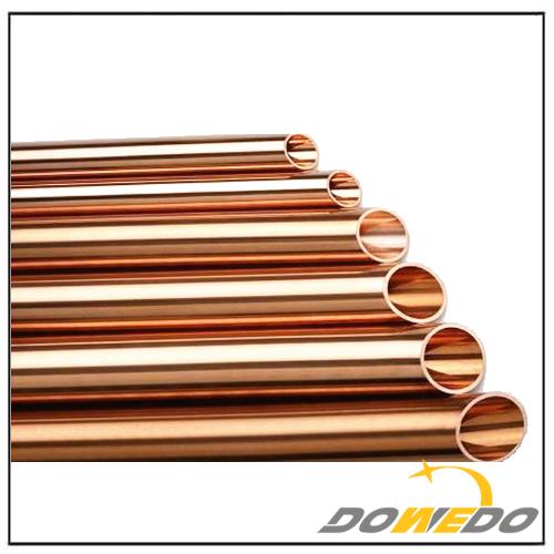 straight pure copper pipe