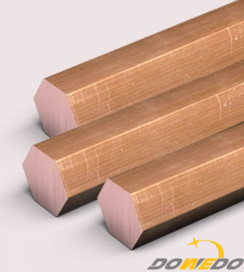 Copper hexagon bars