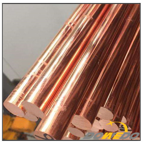 Custom Diameter C11000 Copper Bar