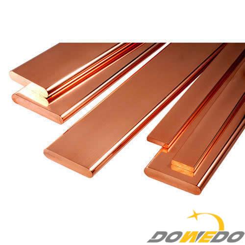 ETP Grade Copper Flat Bars