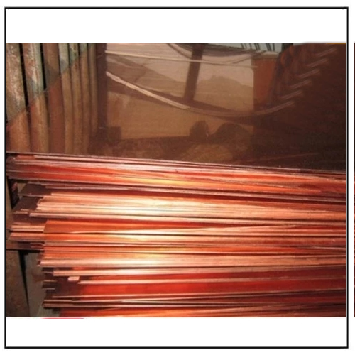 Made in China Polish Bright Copper Sheet