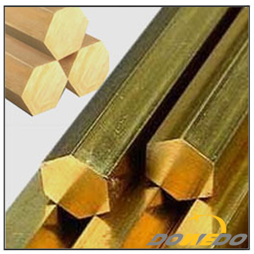 Brass Hexagon and Octagon Extrusion Rods