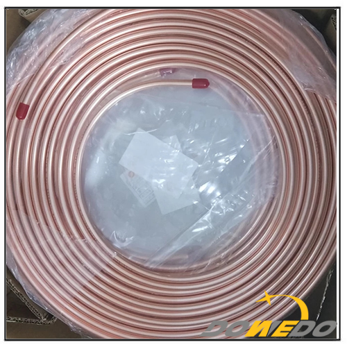 Air Conditioning Pancake Coil Copper Tubes