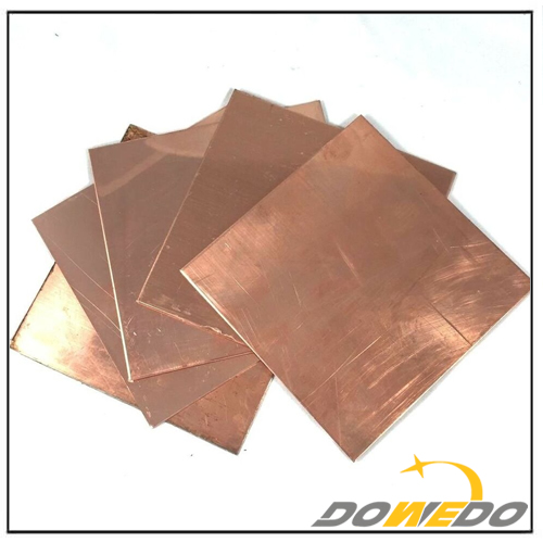 Copper Sheet Metal Supplier