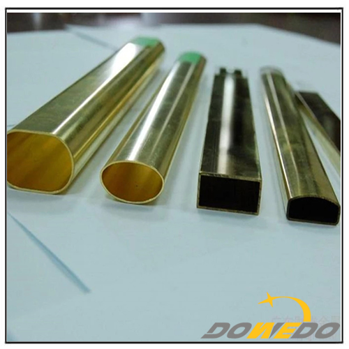 All Shapes Brass Tube Pipe for Decorative
