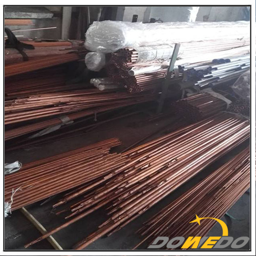 Alloy Piping ASTM B111 Seamless Copper Nickel Pipe
