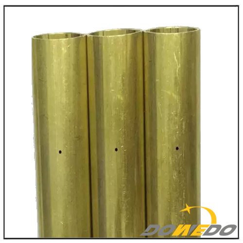 Cutting Bevel Specially Shaped Oval Brass Tube