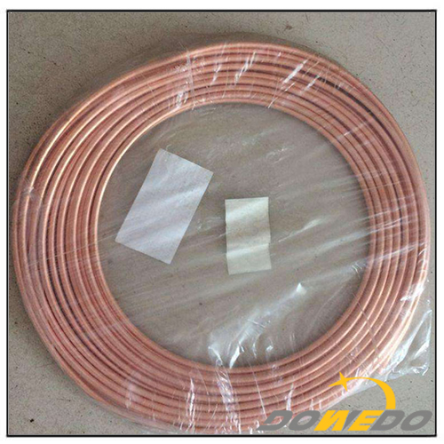 HVAC Industry Cathode Copper Capillary Pipe
