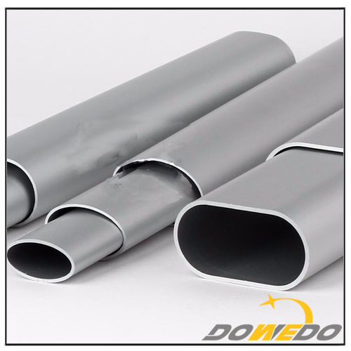 Custom Oval Aluminum Tube